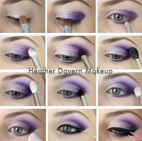 12-Easy-Summer-Eye-Make-Up-Tutorials-For-Beginners-Learners-2015-12