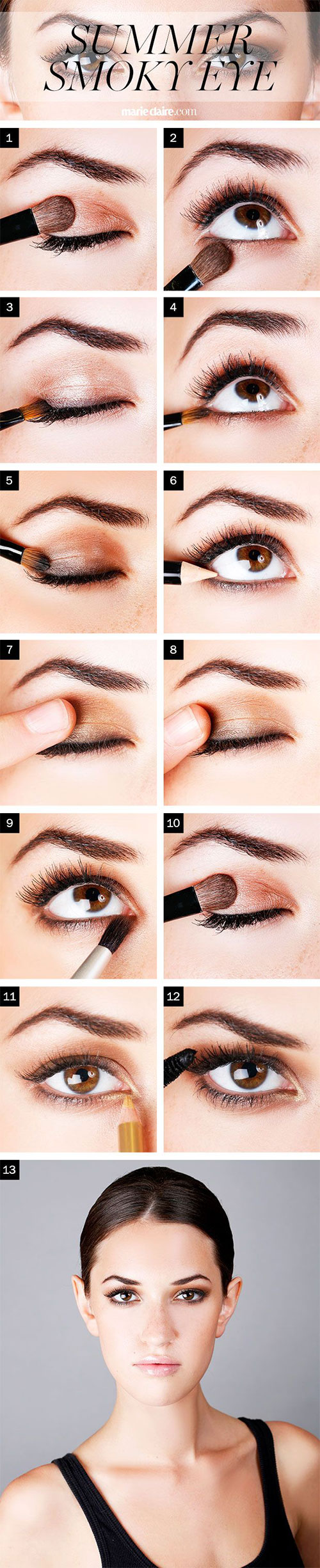 12-Easy-Summer-Eye-Make-Up-Tutorials-For-Beginners-Learners-2015-2