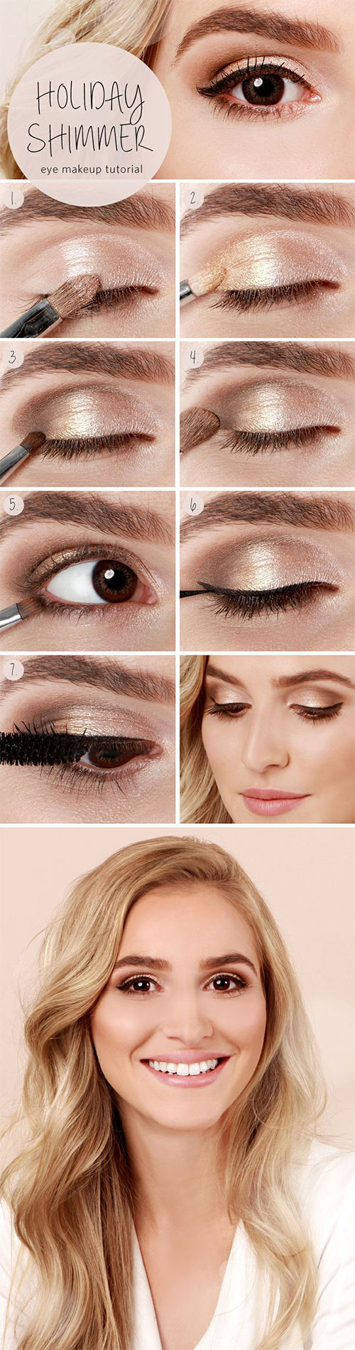 12-Easy-Summer-Eye-Make-Up-Tutorials-For-Beginners-Learners-2015-3