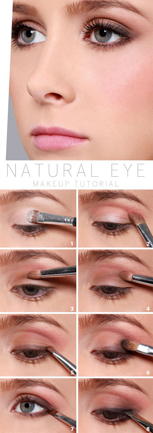 12-Easy-Summer-Eye-Make-Up-Tutorials-For-Beginners-Learners-2015-4