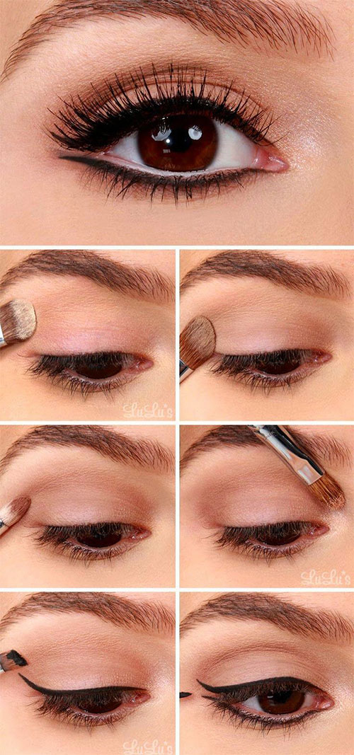 12-Easy-Summer-Eye-Make-Up-Tutorials-For-Beginners-Learners-2015-7