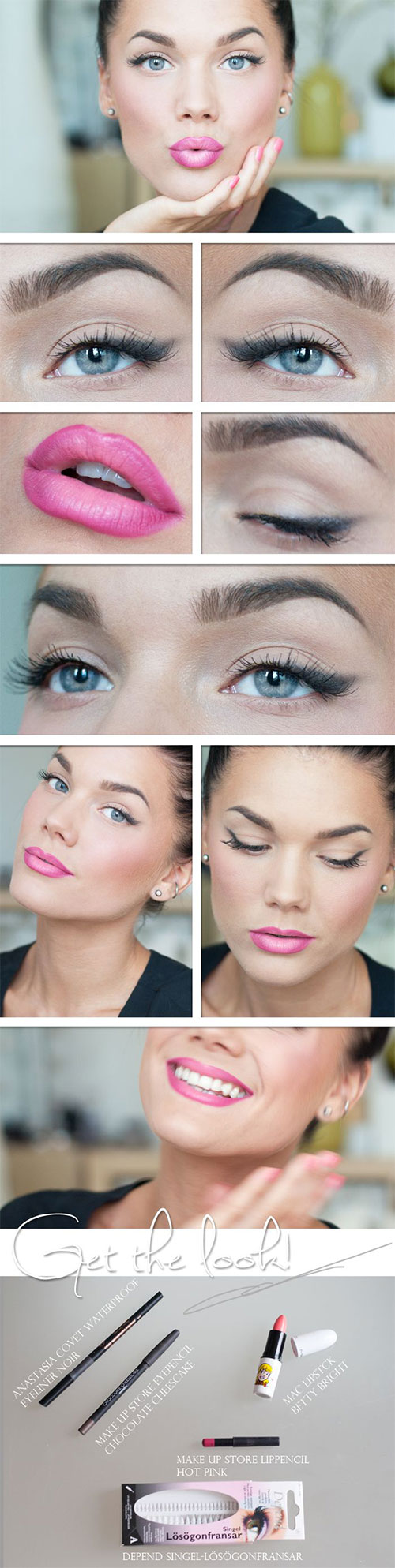 12-Easy-Summer-Eye-Make-Up-Tutorials-For-Beginners-Learners-2015-8