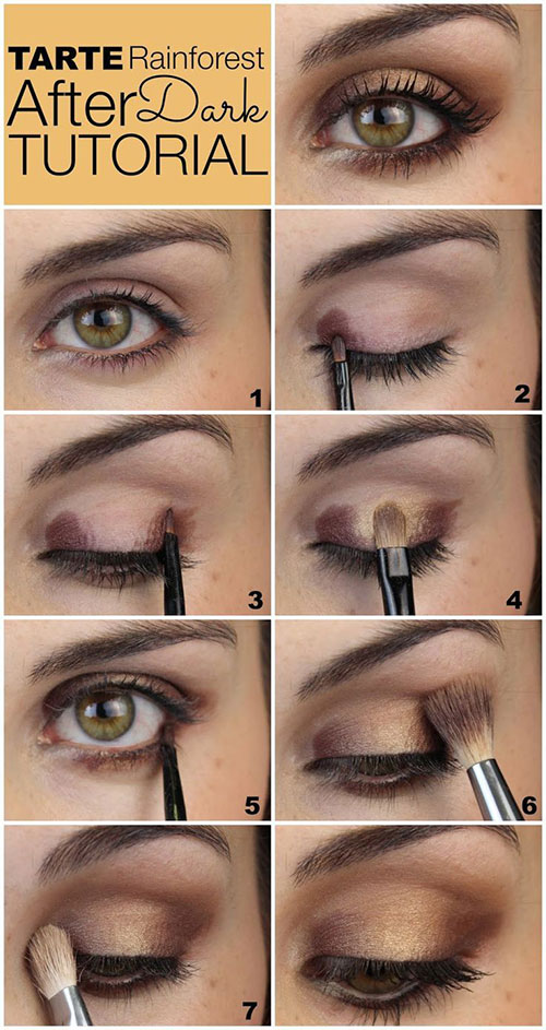 12-Easy-Summer-Eye-Make-Up-Tutorials-For-Beginners-Learners-2015-9
