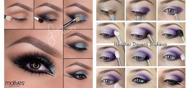 12-Easy-Summer-Eye-Make-Up-Tutorials-For-Beginners-Learners-2015