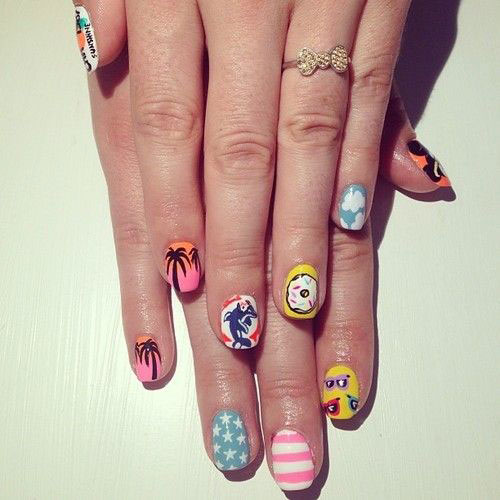 15-Bright-Pretty-Summer-Nail-Art-Designs-Ideas-Trends-Stickers-2015-1