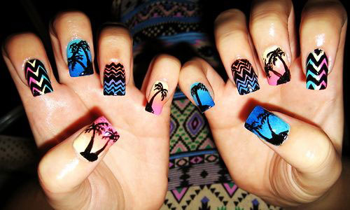 15-Bright-Pretty-Summer-Nail-Art-Designs-Ideas-Trends-Stickers-2015-15