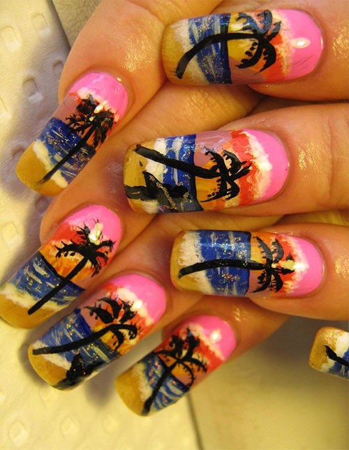 15-Bright-Pretty-Summer-Nail-Art-Designs-Ideas-Trends-Stickers-2015-16
