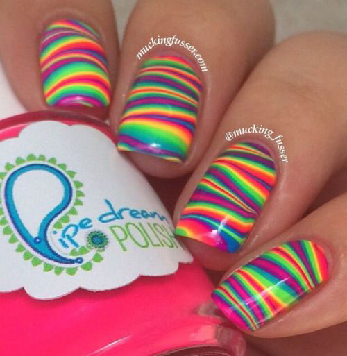 15-Bright-Pretty-Summer-Nail-Art-Designs-Ideas- - 15+ Bright & Pretty Summer Nail Art Designs, Ideas, Trends