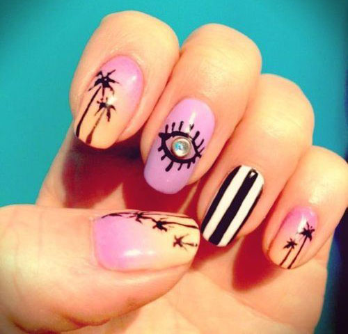 15 Cool Summer Nail Art Designs, Ideas, Trends & Stickers