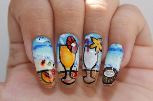 15-Cool-Summer-Nail-Art-Designs-Ideas-Trends-Stickers-2015-9
