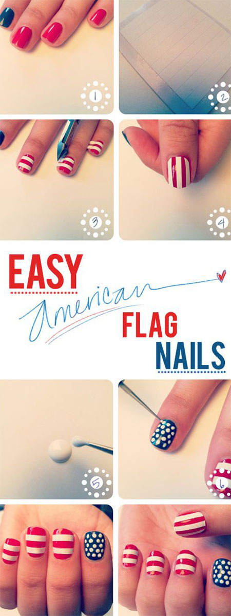 15-Simple-Easy-Summer-Nails-Tutorials-For-Beginners-Learners-2015-11