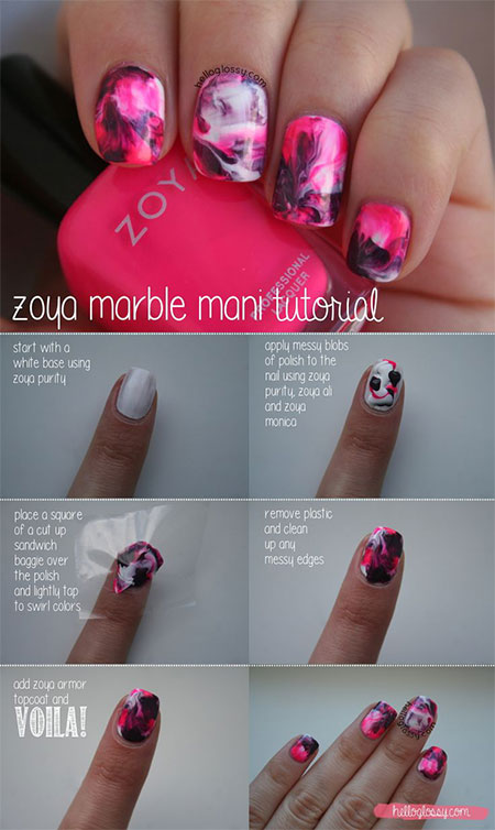 15-Simple-Easy-Summer-Nails-Tutorials-For-Beginners-Learners-2015-12