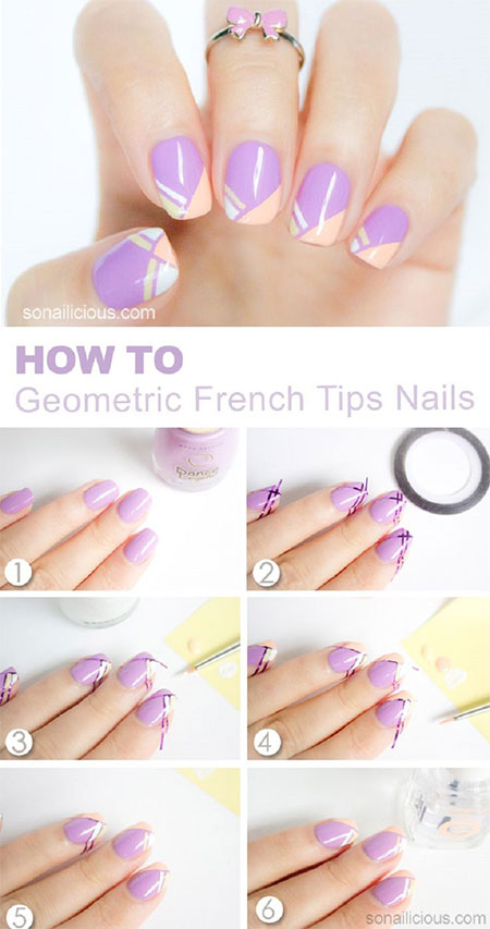 15-Simple-Easy-Summer-Nails-Tutorials-For-Beginners-Learners-2015-13