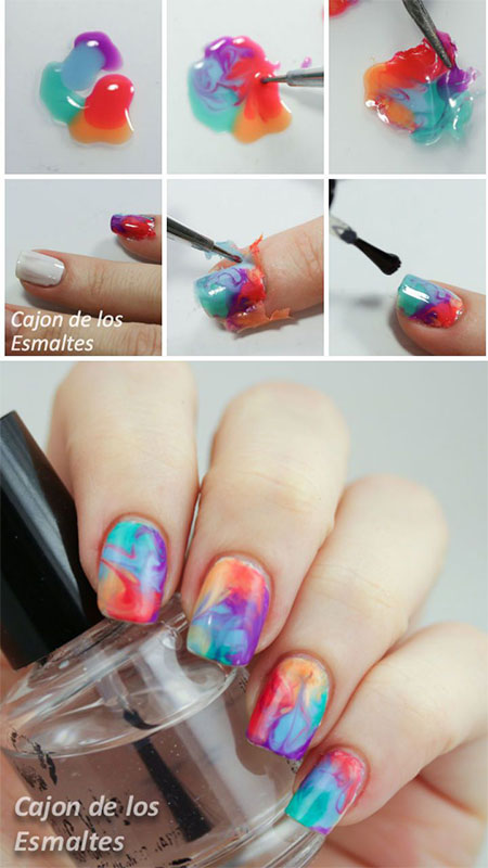 15-Simple-Easy-Summer-Nails-Tutorials-For-Beginners-Learners-2015-15