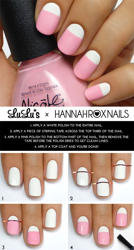 15-Simple-Easy-Summer-Nails-Tutorials-For-Beginners-Learners-2015-3