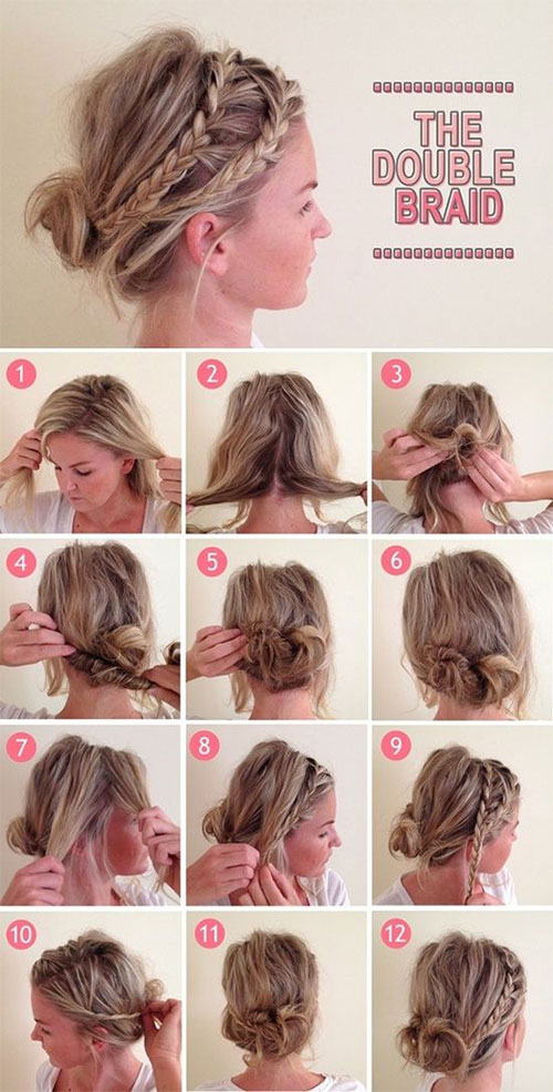 Cool How To Do Cool Braids Easy Braids Short Hairstyles Gunalazisus