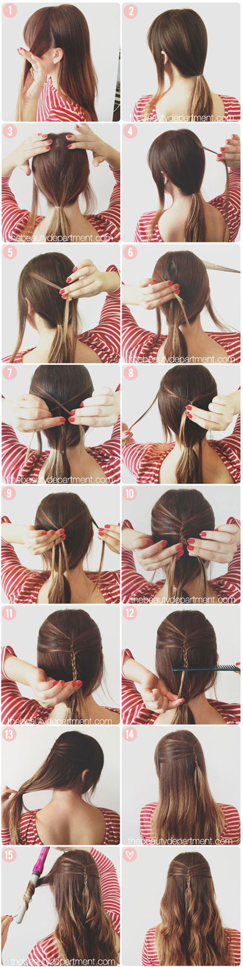 20-Easy-Step-By-Step-Summer-Braids-Style-Tutorials-For-Beginners-2015-17