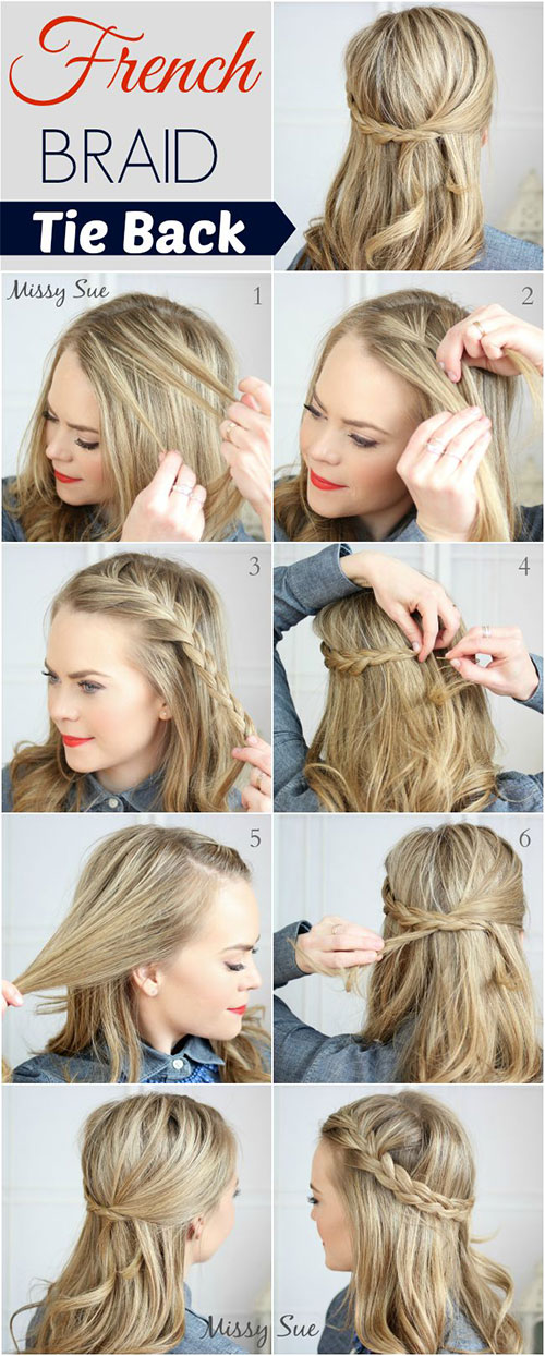 Sensational 20 Easy Step By Step Summer Braids Style Tutorials For Beginners Short Hairstyles Gunalazisus