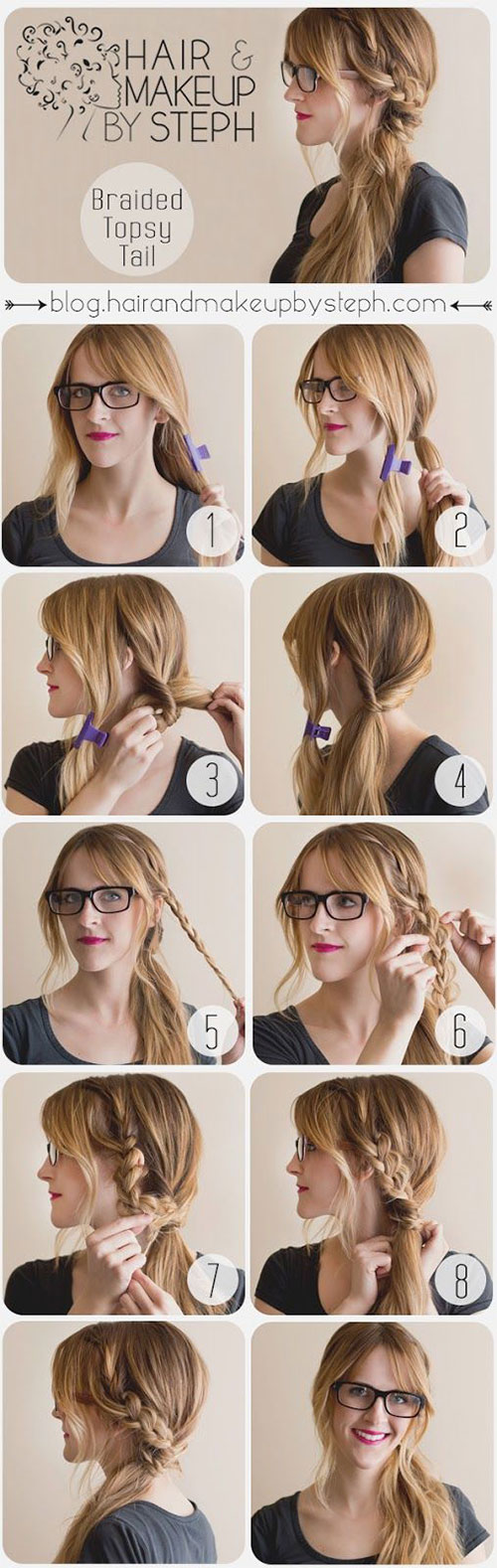 Pleasing 20 Easy Step By Step Summer Braids Style Tutorials For Beginners Short Hairstyles Gunalazisus
