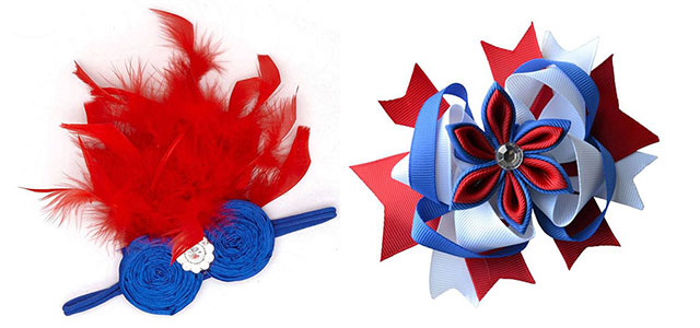 15 fourth of july hair bows for 2015 hair