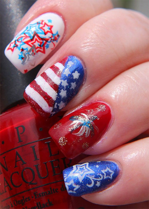 25-Best-Fourth-Of-July-Nail-Art-Designs-Ideas-Stickers-2015-4th-Of-July-Nails-11