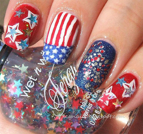 25-Best-Fourth-Of-July-Nail-Art-Designs-Ideas-Stickers-2015-4th-Of-July-Nails-3