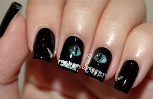 Easy Halloween Nail Polish Designs