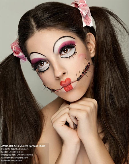 12 halloween doll makeup styles looks trends ideas