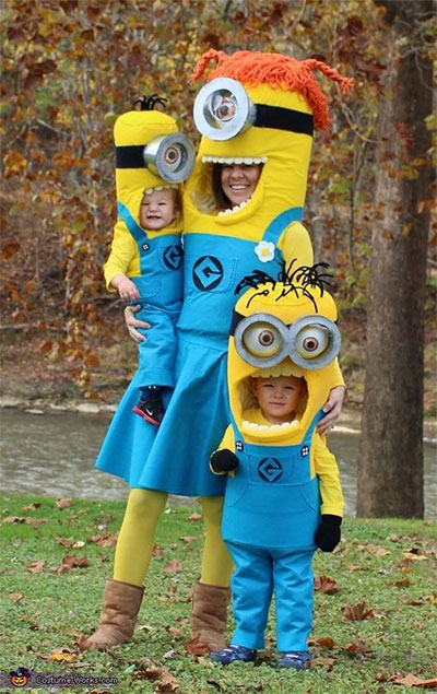 12-Minion-Halloween-Costume-Ideas-For-Kids-Girls-  sc 1 st  Modern Fashion Blog & 12+ Minion Halloween Costume Ideas For Kids u0026 Girls 2015 | Modern ...
