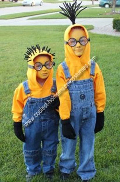 12 minion halloween costume ideas for kids girls 2015 for Children s halloween costume ideas
