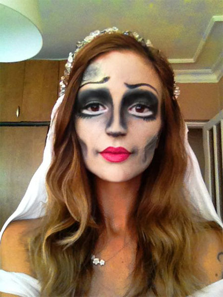 Dead Bride Makeup Pictures : 12+ Scary Corpse Bride Makeup Looks and Ideas For Halloween ...