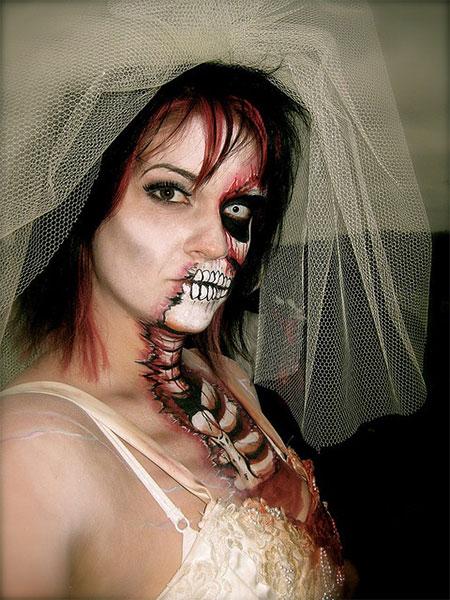 Bride Zombie Makeup - makeup.aquatechnics.biz