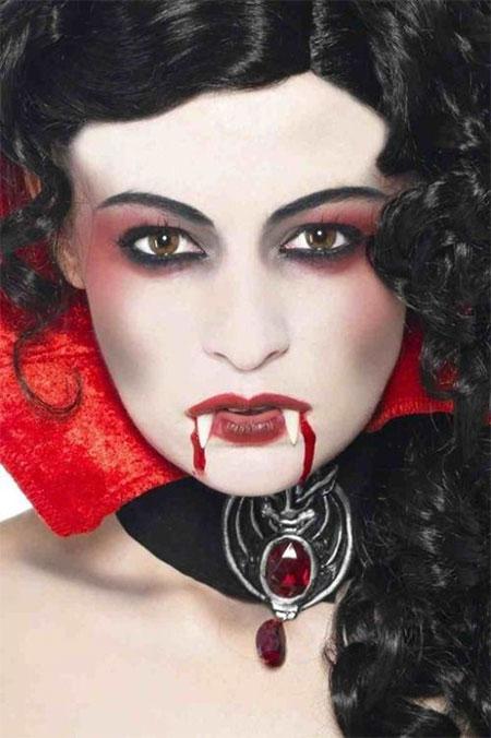 12 Scary Halloween Vampire Makeup Looks &amp Ideas 2015 - Vampire Makeup