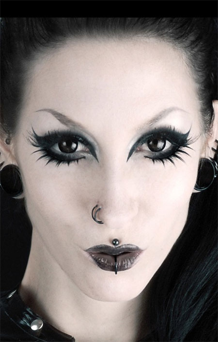 12 scary halloween vampire makeup looks ideas 2015 modern fashion blog. Black Bedroom Furniture Sets. Home Design Ideas