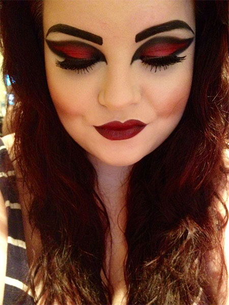 12 Scary Halloween Vampire Makeup Looks u0026 Ideas 2015 ...