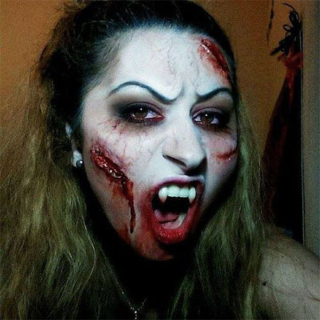 12 Scary Halloween Vampire Makeup Looks & Ideas 2015 | Modern ...