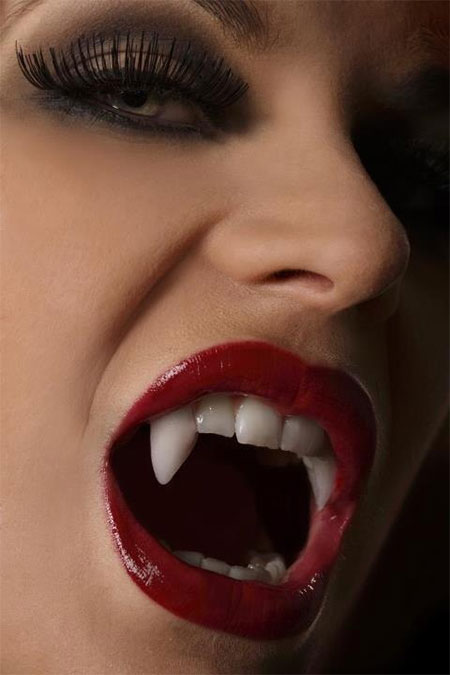 12 Scary Halloween Vampire Makeup Looks U0026 Ideas 2015 | Modern Fashion Blog