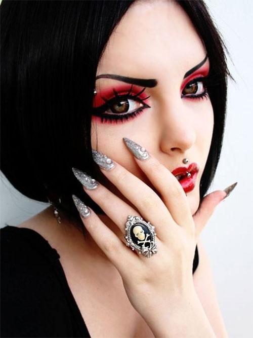 15-Best-Spider-Web-Cat-Bat-Eye-Makeup-Looks-Ideas-For-Halloween-2015-13