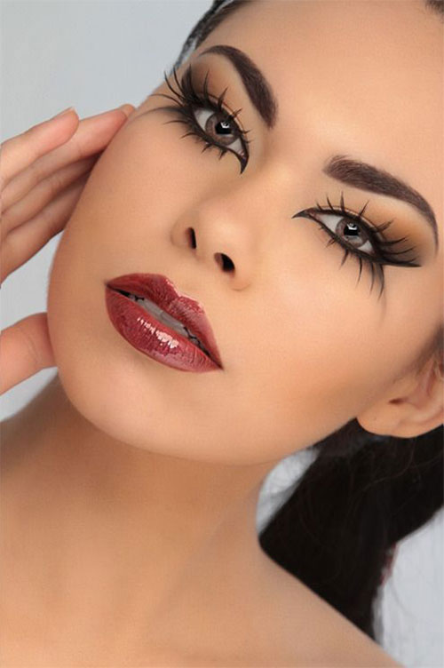 15 best spider web cat amp bat eye makeup looks amp ideas for