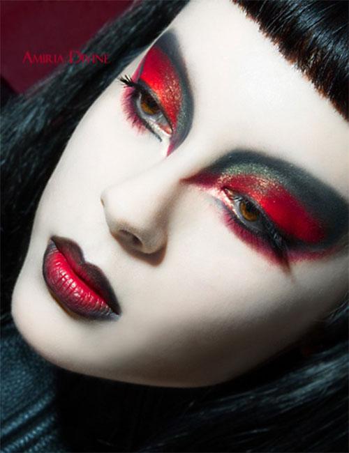 15-Best-Spider-Web-Cat-Bat-Eye-Makeup-Looks-Ideas-For-Halloween-2015-15