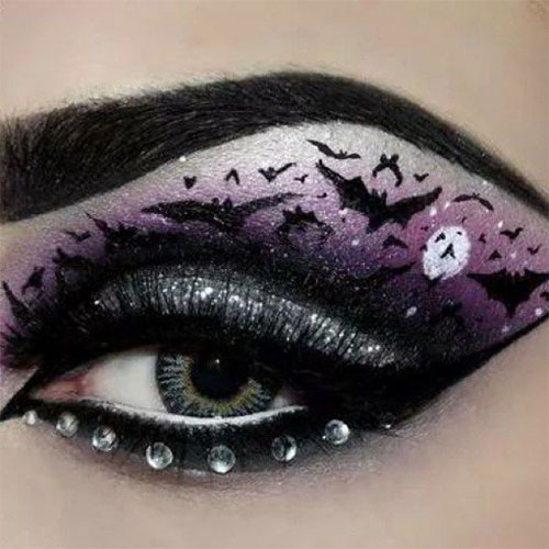 15-Best-Spider-Web-Cat-Bat-Eye-Makeup-Looks-Ideas-For-Halloween-2015-3