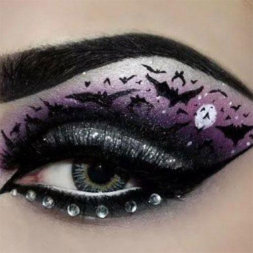 15-Best-Spider-Web-Cat-Bat-Eye-Makeup-Looks-Ideas-For-Halloween-2015-3