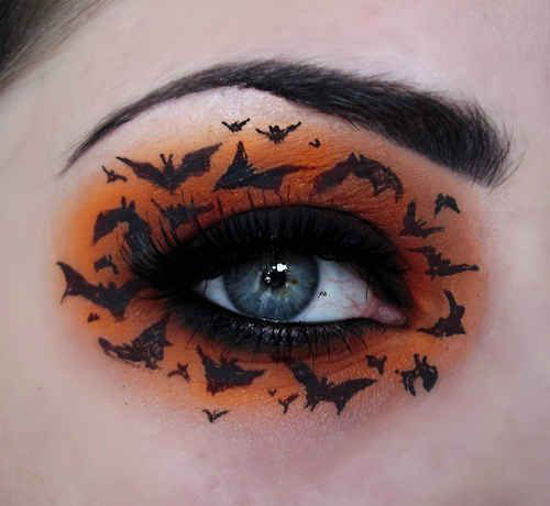 15-Best-Spider-Web-Cat-Bat-Eye-Makeup-Looks-Ideas-For-Halloween-2015-4