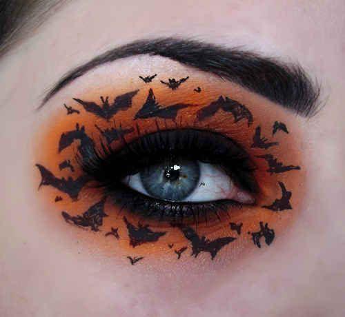 15-Best-Spider-Web-Cat-Bat-Eye-Makeup-Looks-Ideas-For-Halloween-2015-4