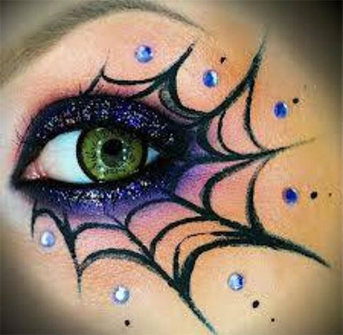 15-Best-Spider-Web-Cat-Bat-Eye-Makeup-Looks-Ideas-For-Halloween-2015-5