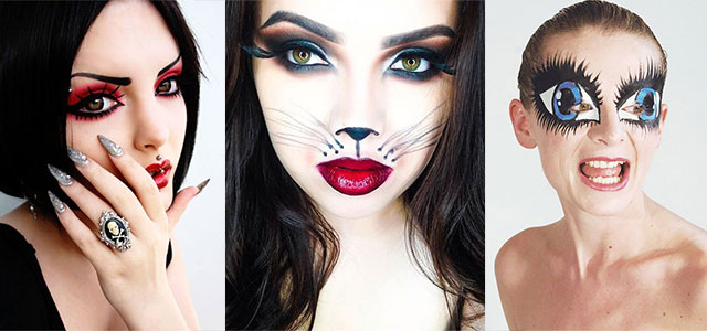 15-Best-Spider-Web-Cat-Bat-Eye-Makeup-Looks-Ideas-For-Halloween-2015-F