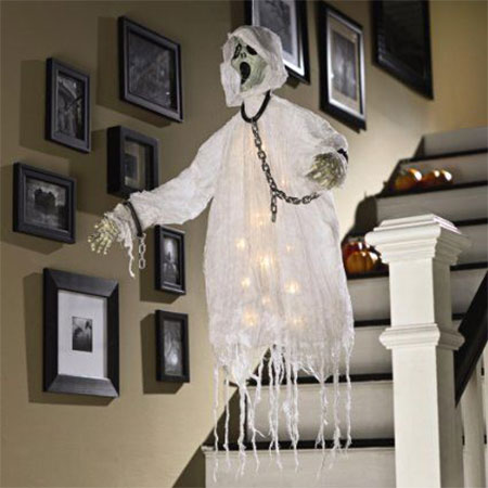 decor cheap easy pin ideas halloween decorations decorating diy trash with outdoor spooktacular bags
