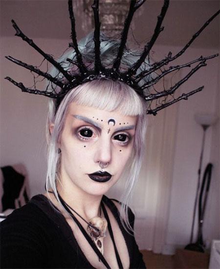 Modern Witch Makeup | Saubhaya Makeup