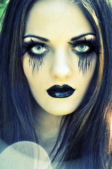 15+ Halloween Witch Make Up Ideas U0026 Styles For Girls 2015 | Modern Fashion Blog