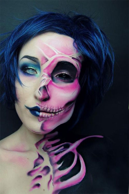 15-Scariest-Halloween-Skull-Makeup-Looks-Ideas-2015-8